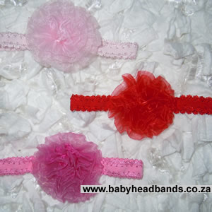 Fancy Lace Organza Headband