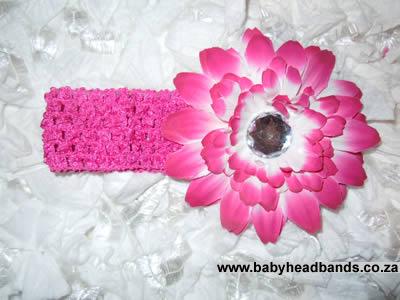 Two Tone Pink Headband