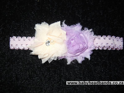 Double Flower Headband